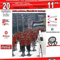 """""""V MARCHA POPULAR CONTRA EL ALZHEIMER EN BILBAO"""""""