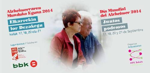 """Día Mundial del Alzheimer 2014 -""""Juntos Podemos"""""""