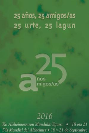 25 años, día mundial del Alzheimer